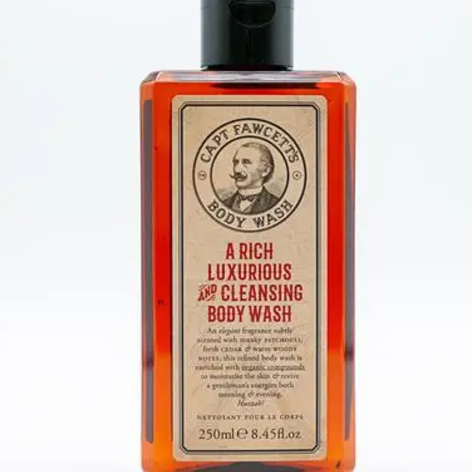 CAPTAIN FAWCETT A Rich Luxurious and Cleansing Body Wash