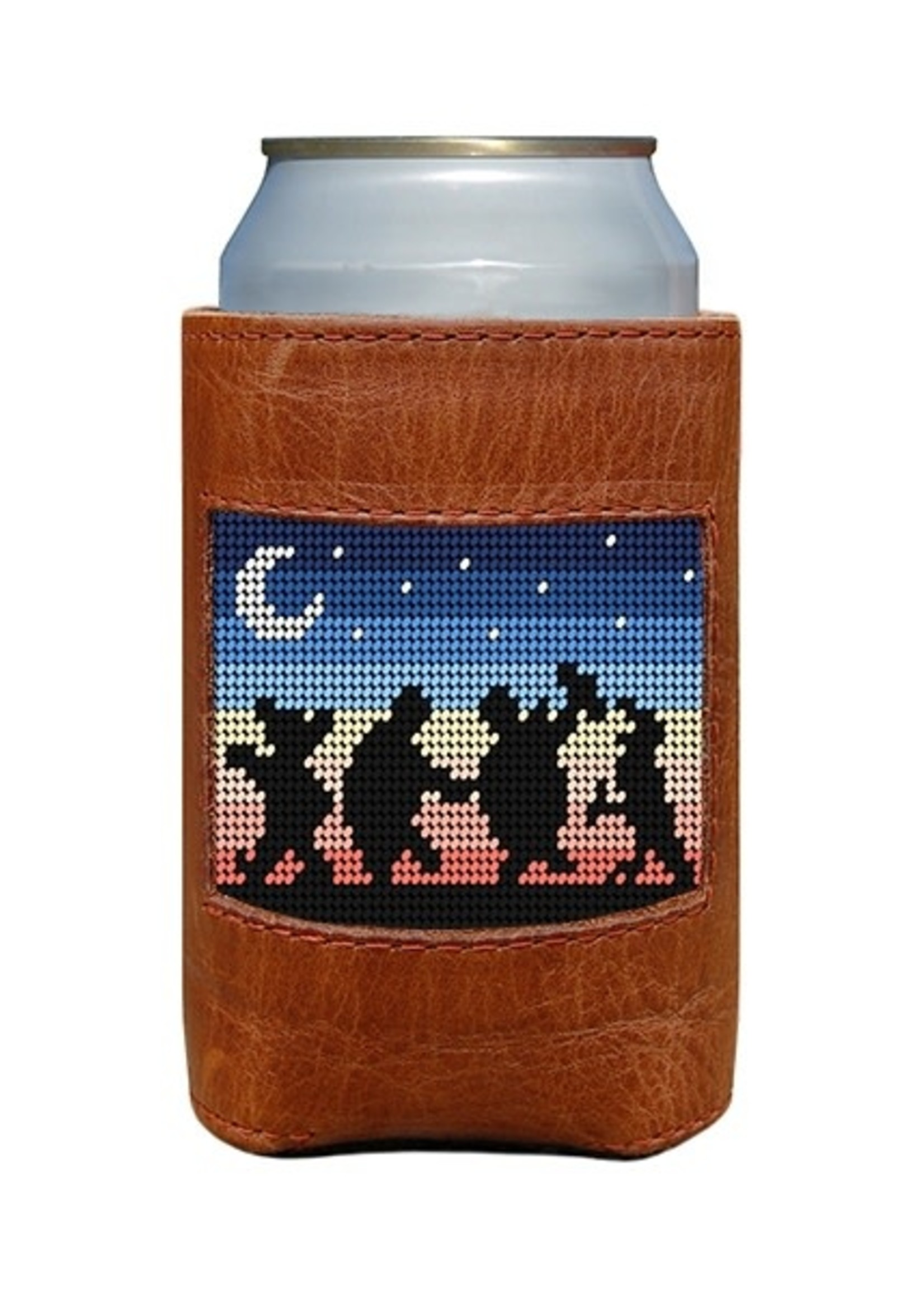 Smathers & Branson Grateful Dead Moondance Needlepoint Coozie