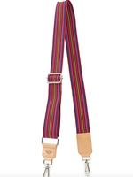Consuela Crossbody Strap, Pink Webbing 53mm