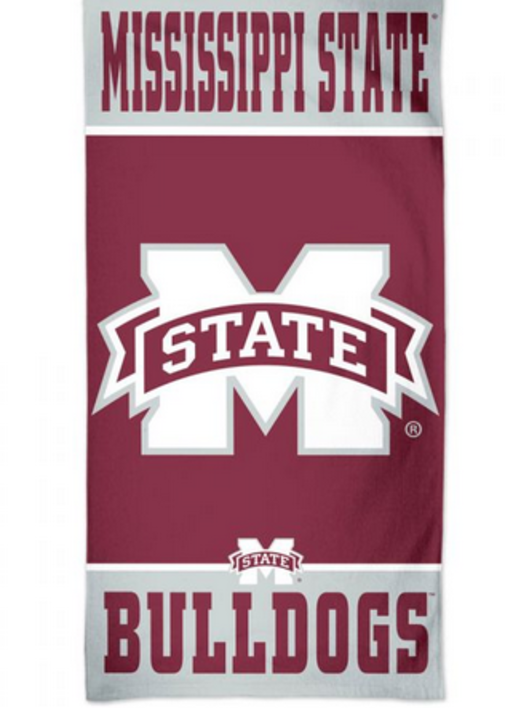WinCraft Mississippi State Bulldogs Beach Towel