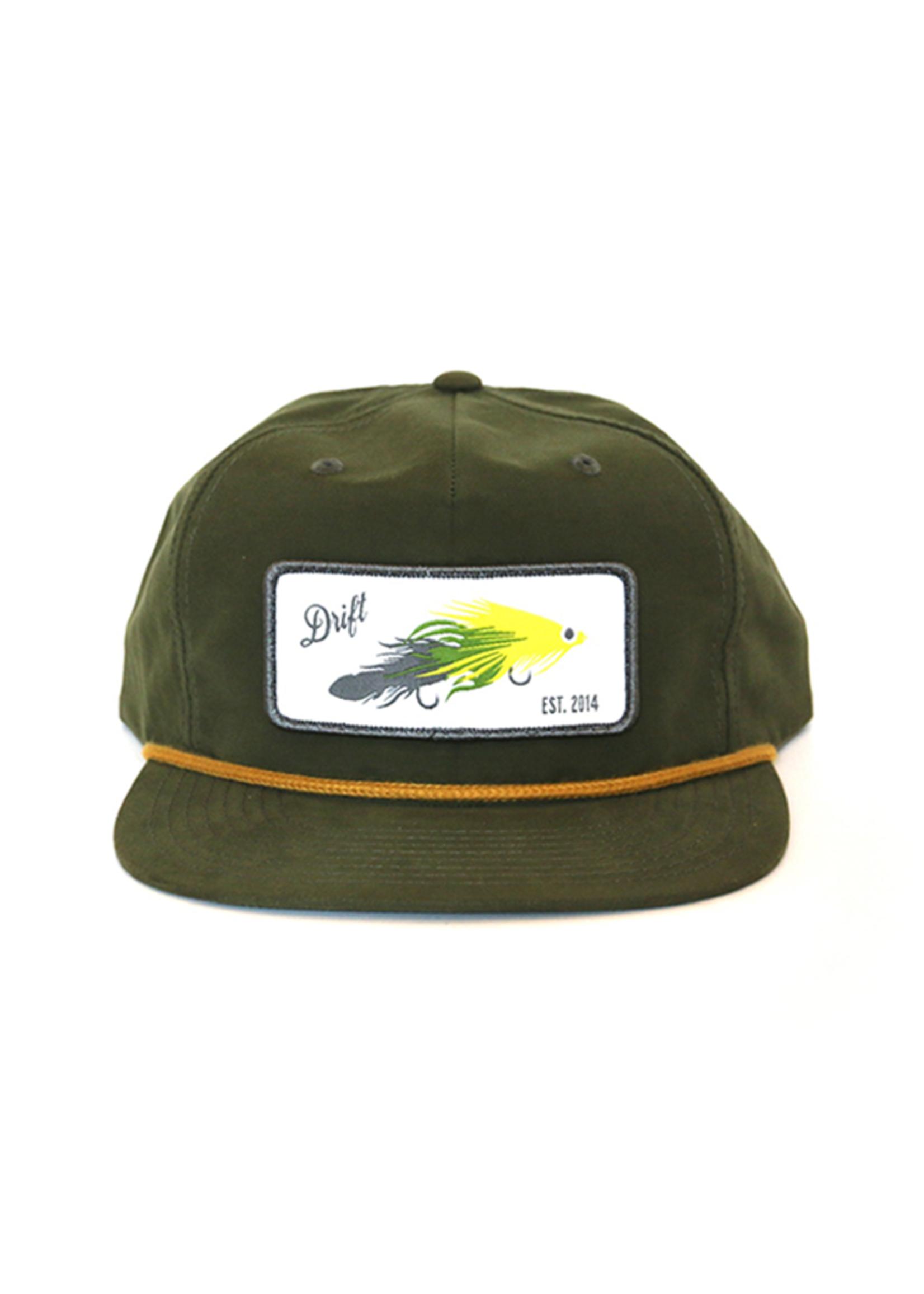 Drift Fly Co. Peepaw Streamer Loden