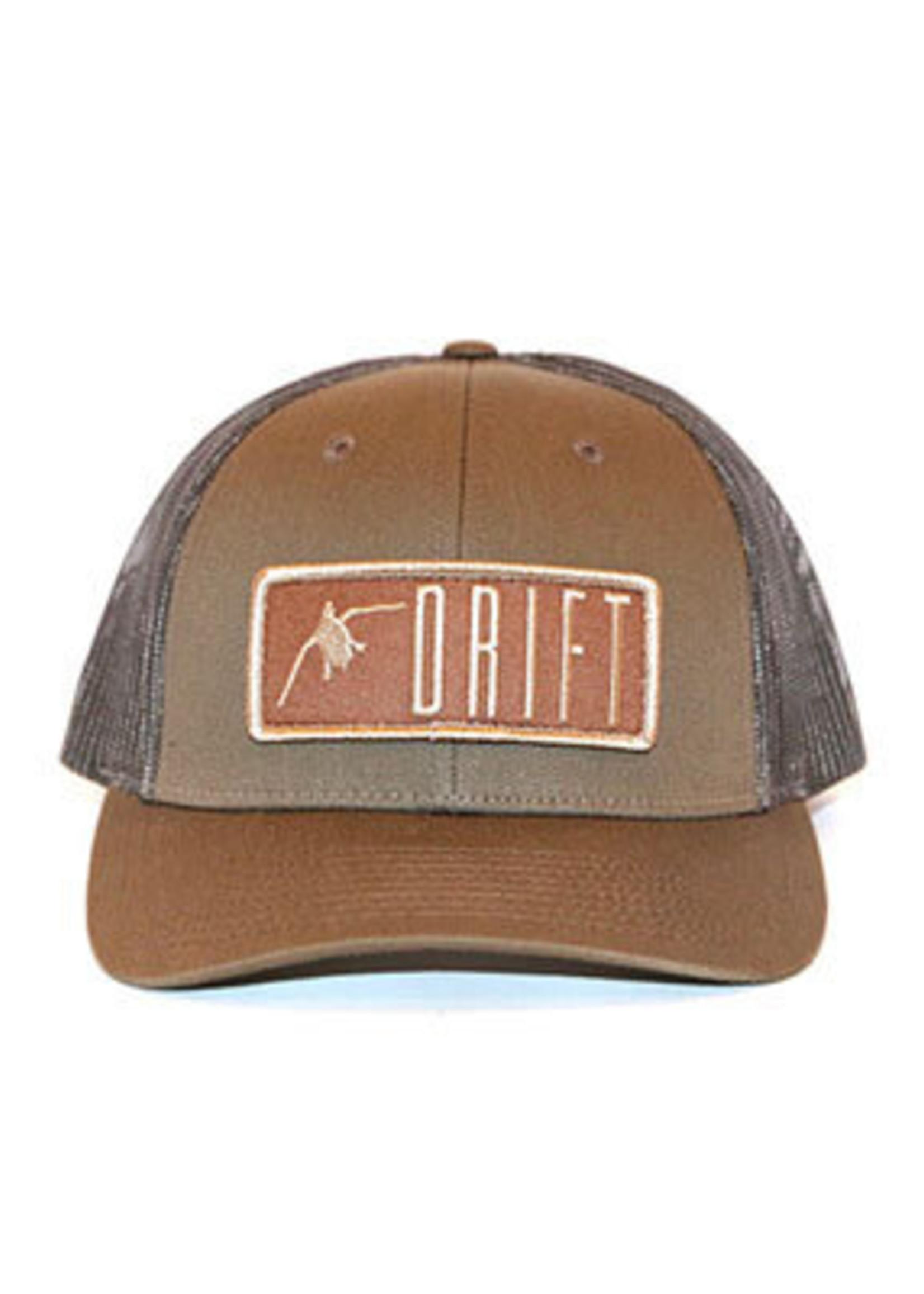 Drift Fly Co. Waterfowl Low Pro Trucker Brown
