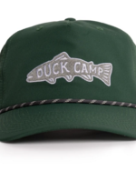 Duck Camp Trout Patch Hat Green