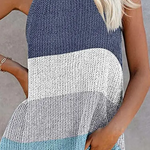 Elsey Striped Knitted Top