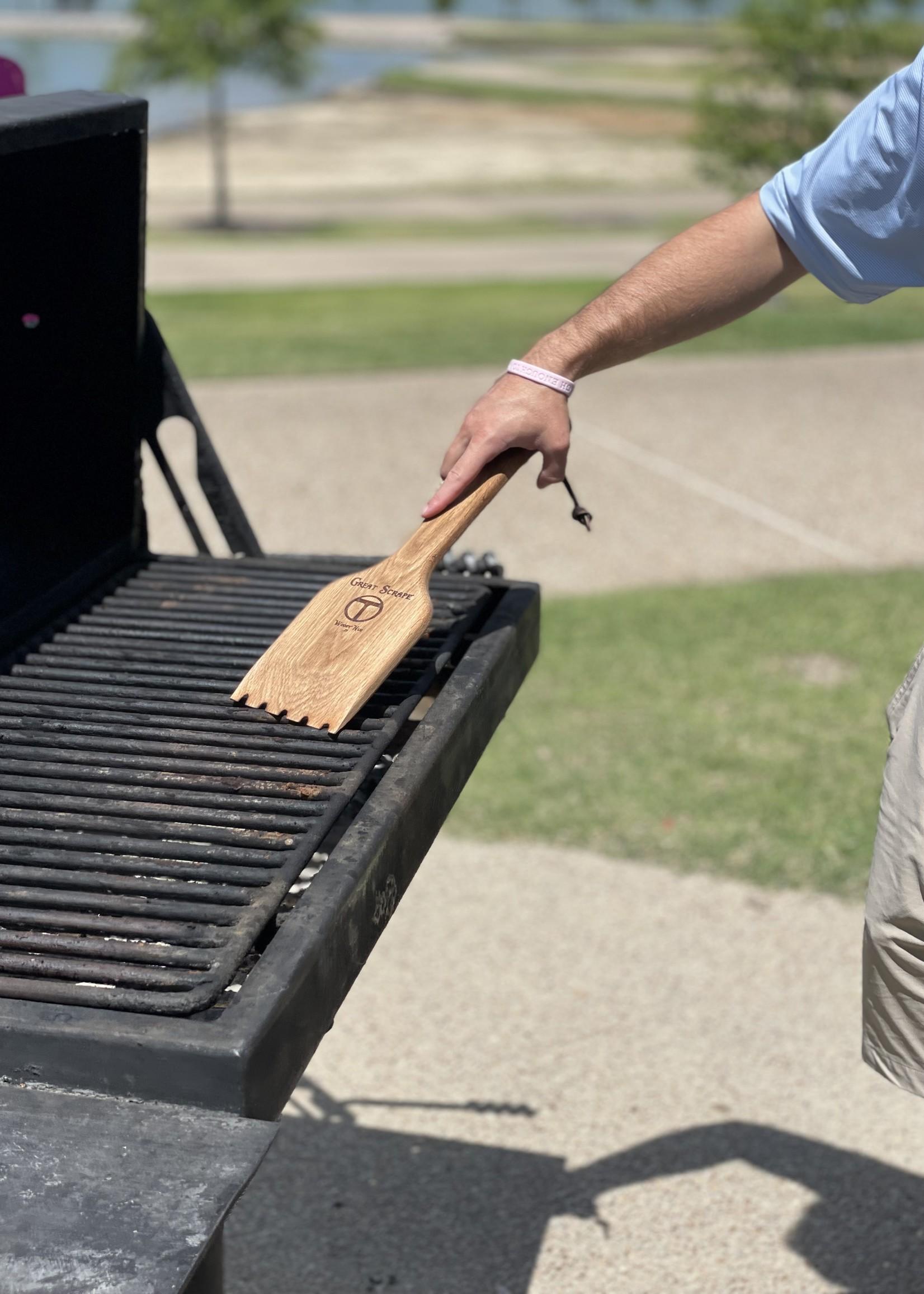 The BBQ Butler Wood Grill Scraper