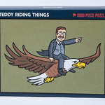 RSVLTS Teddy Riding Things Puzzle
