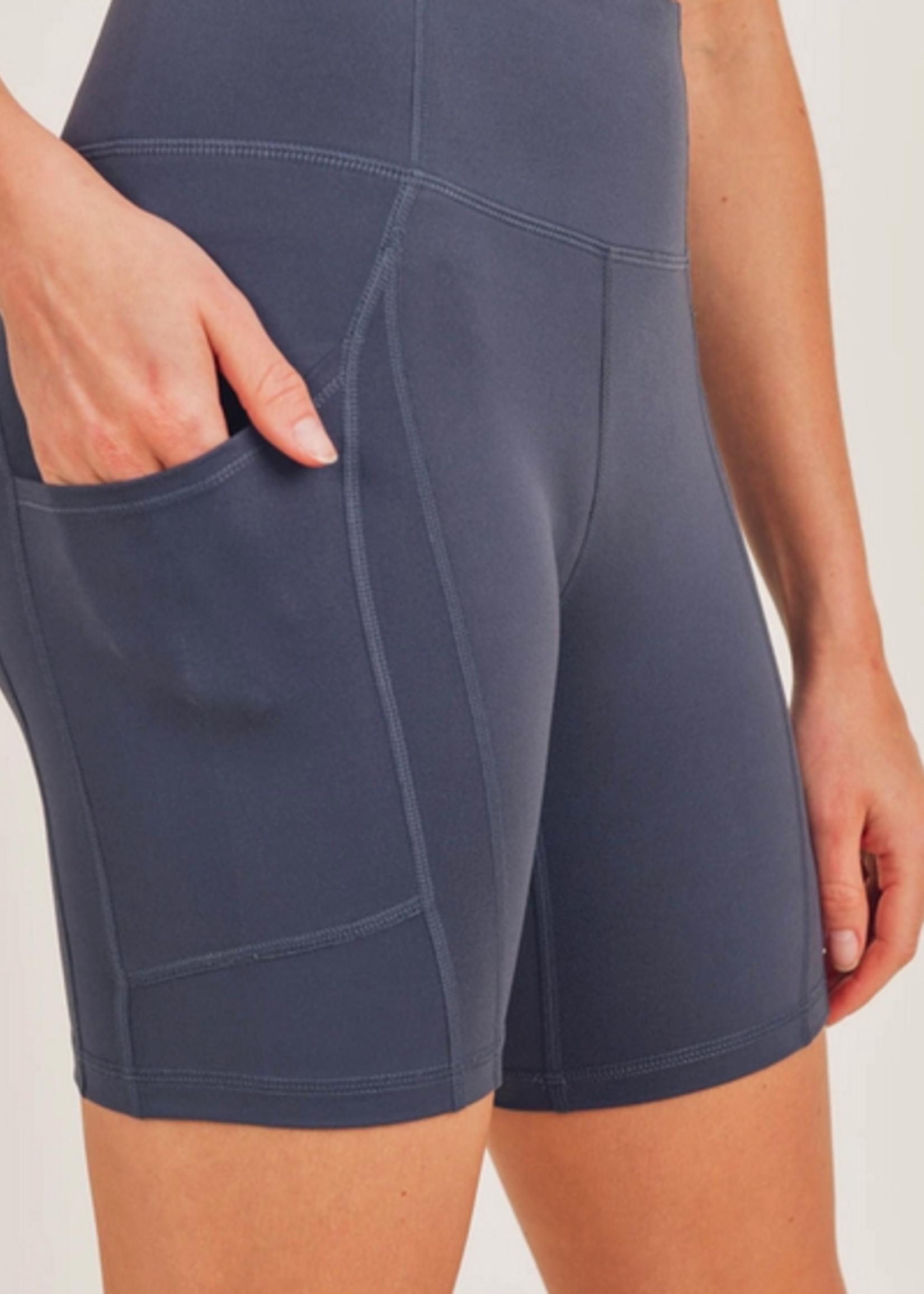 Mono B Biker Short w\ Pocket