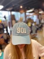 Oxbeau 901 Hat Light Blue