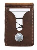 Over Under Bison Front Pocket Wallet