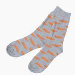 Barrel Down South Grey/Orange TN Sock