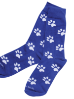 Barrel Down South Blue Paw Socks