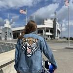 WKNDER Tiger Denim Jacket