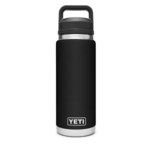 YETI Black 26 oz Bottle Chug