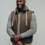 The Normal Brand Dano Hooded Vest