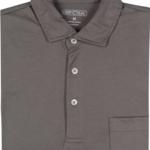 GenTeal Apparel Charcoal Easton Pima Cotton