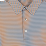 GenTeal Apparel Freeport Stripe Toasted Polo