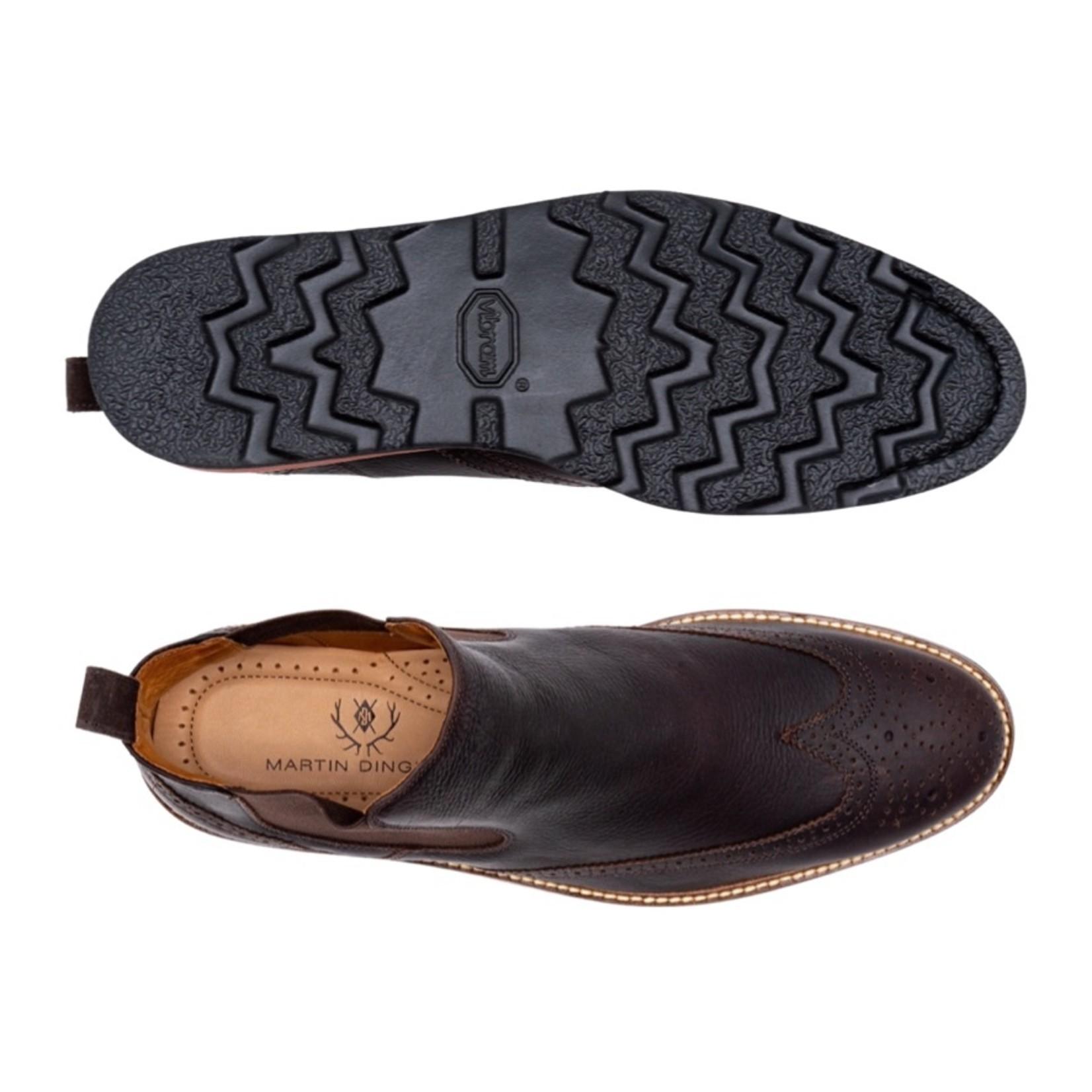 Martin Dingman Blue Ridge Chelsea Oiled Saddle Leather - Walnut