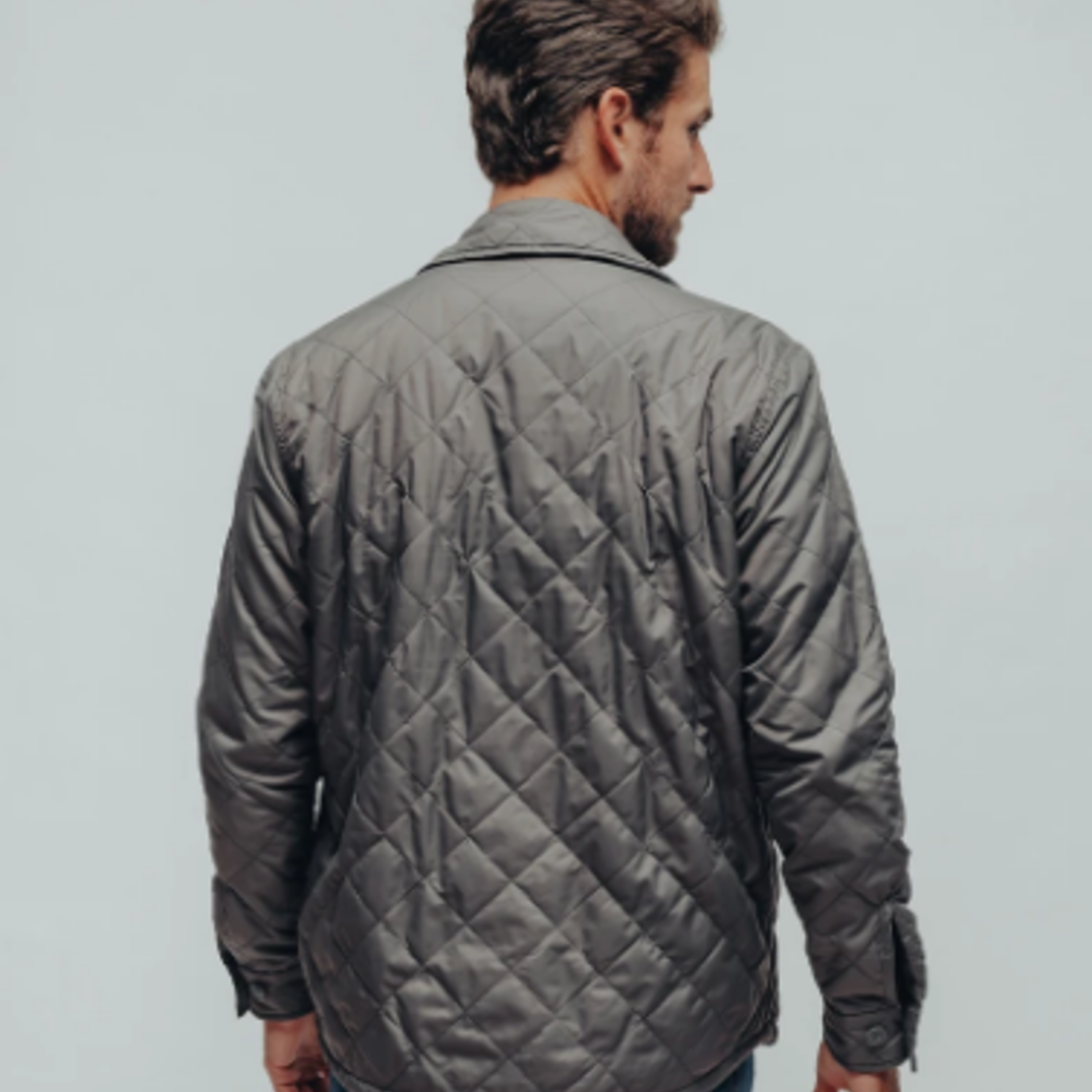 The Normal Brand Quilted Sherpa Lined Jacket