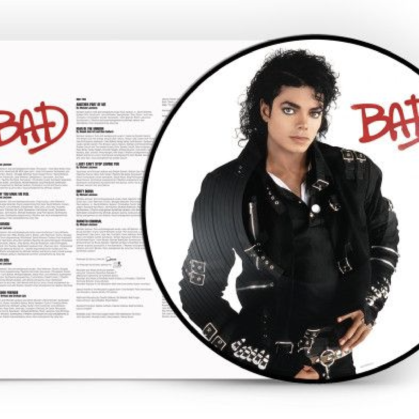 Monostereo Michael Jackson Bad (Picture Disk)