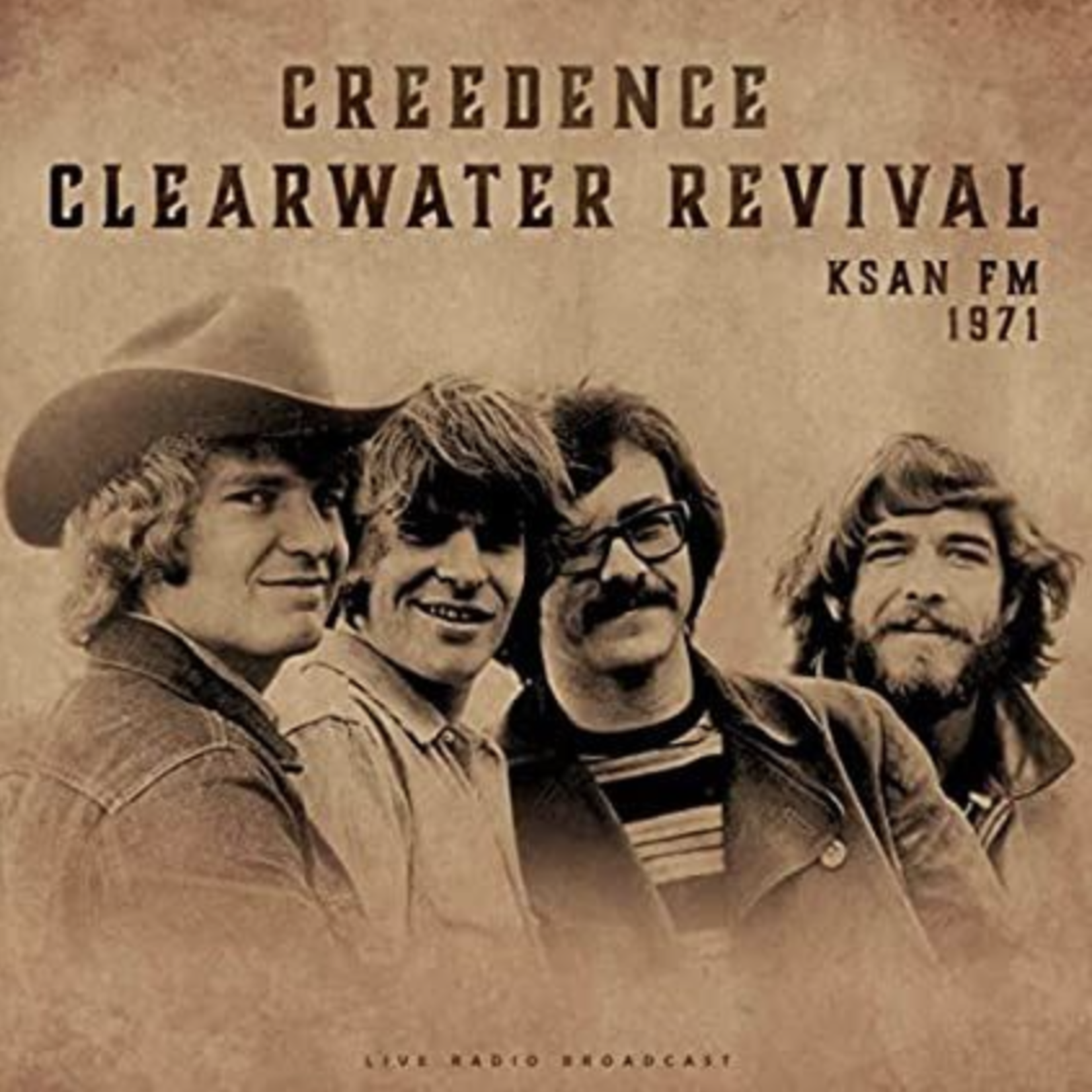 Monostereo Creedence Clearwater Revival KSAN FM 1971