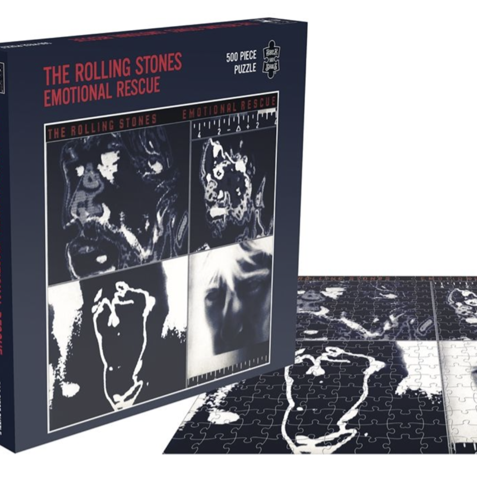 Monostereo The Rolling Stones Emotional Rescue Puzzle