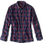 Orvis Indigo Tech Plaid Shirt