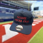 Grind City Design Score From Far Navy/Red Rope Hat