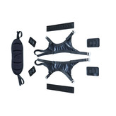 Alpacka Raft Thigh Strap w/ Attachment kit and Backband