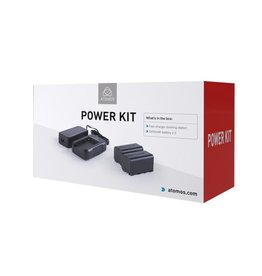 Atomos Atomos Power Kit includes: 2x NP-F750 5200mAh batteries, fast charger, Power Supply
