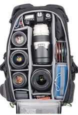 """Think Tank Think Tank  BackLight® 26L Photo Daypack,  Charc Standard DSLR or Mirrorless + lens, 15"""" laptop & personal gear"""