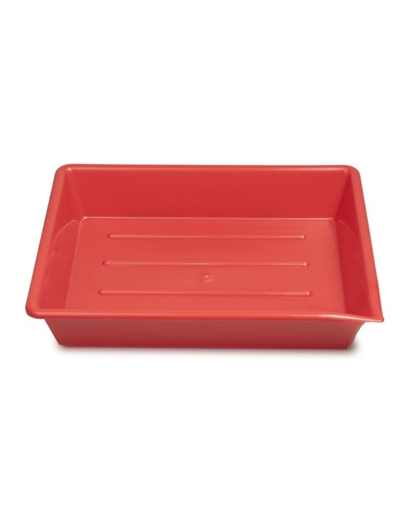 "Kaiser Kaiser Lab Tray, 20 x 25 cm (7.9 x 9.8""), red"