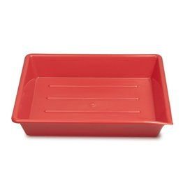 "Kaiser Kaiser Lab Tray, 20 x 25 cm (7.9 x 9.8""), red"