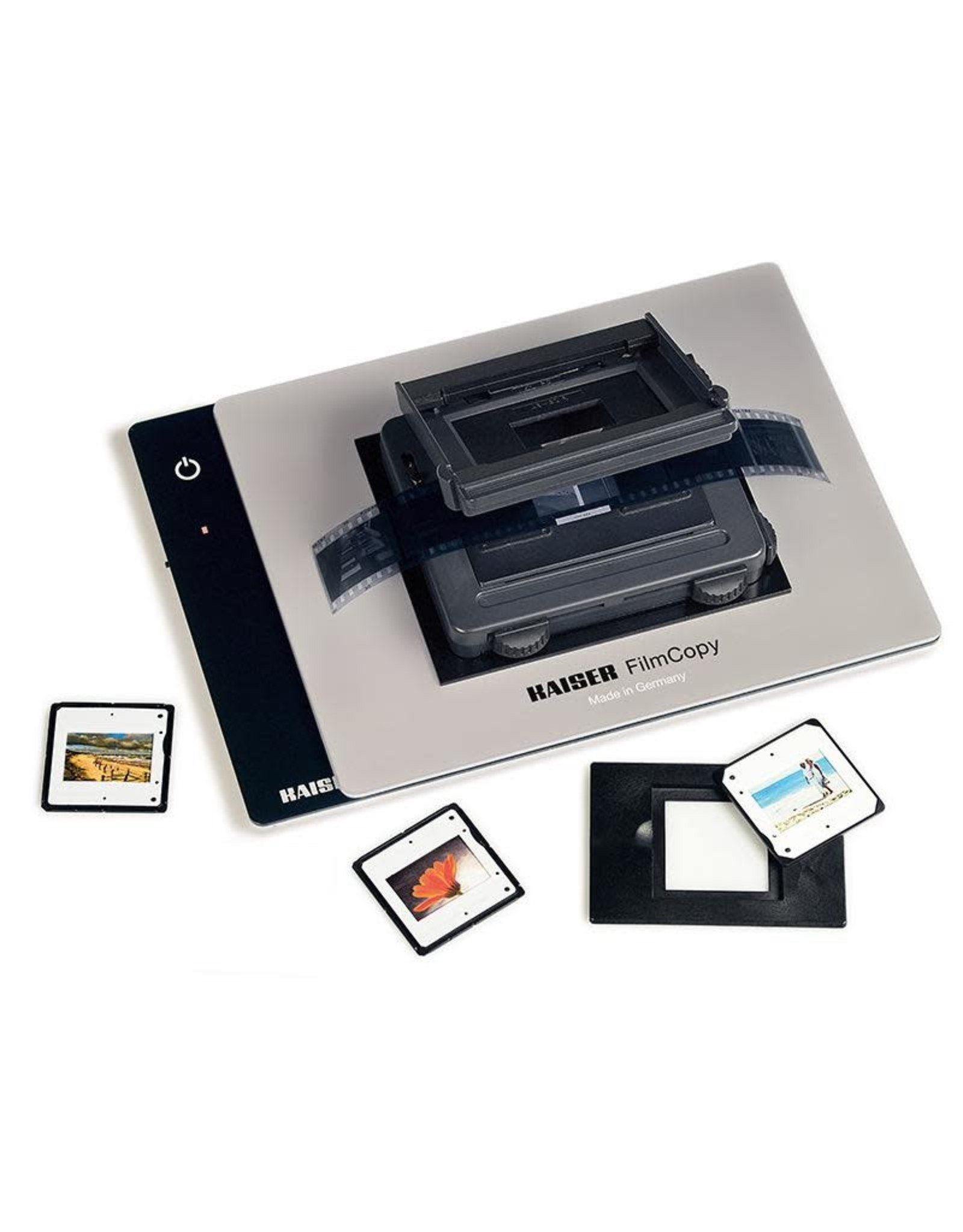 Kaiser Kaiser FilmCopy Vario Kit, consisting of FilmCopy Vario (2457) and slimlite plano LED Light Box 110 V, US-Plug (2453)