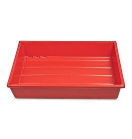 "Kaiser Kaiser Lab Tray, 30 x 40 cm (11.8 x 15.7""), red"