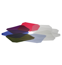 Hensel Hensel Colour and Diffusion Filter Set, heat resistant, Set of 6 Colour and 4 Diffusion Filters