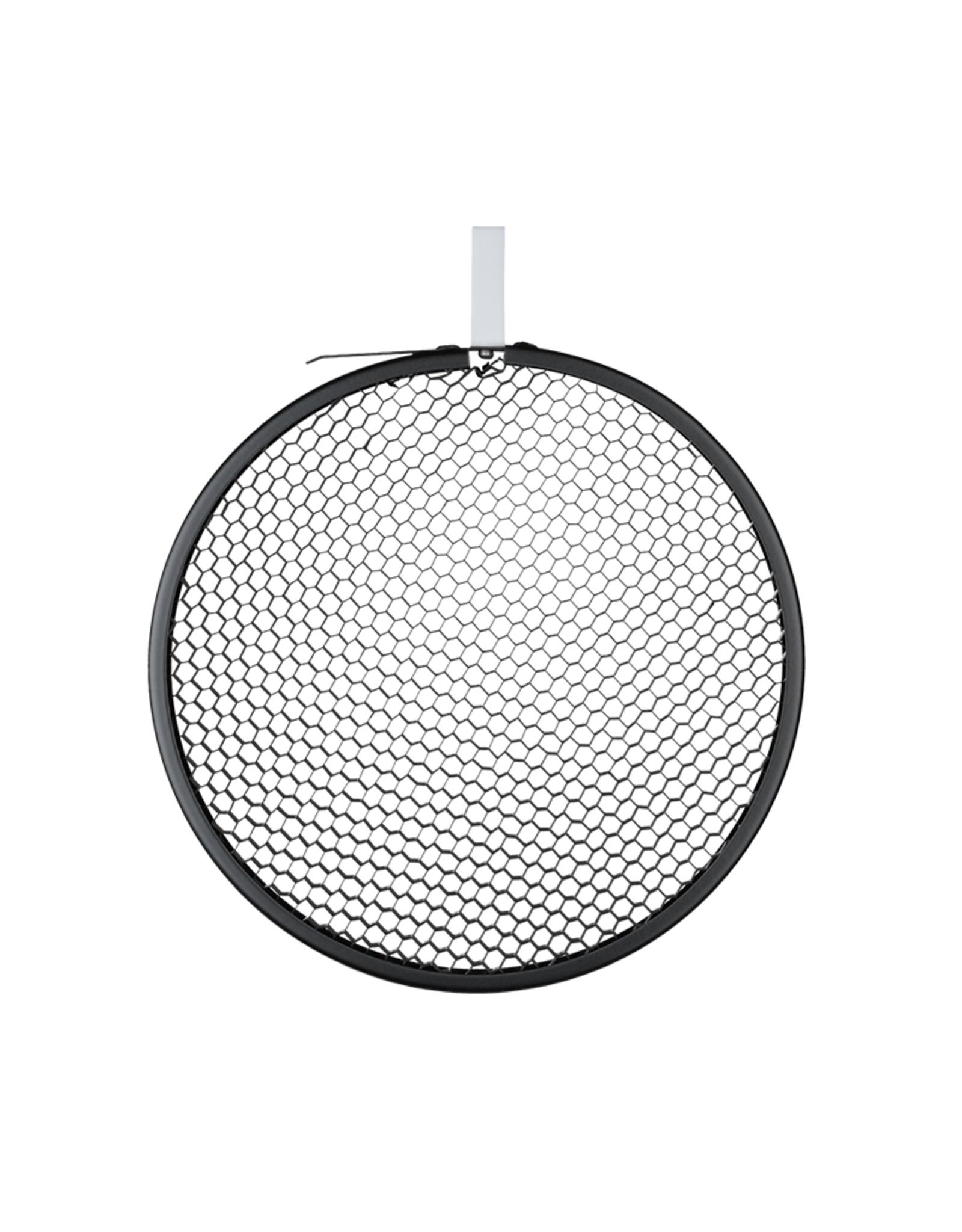 Hensel Hensel Honeycomb Grid, round, black, No. 2