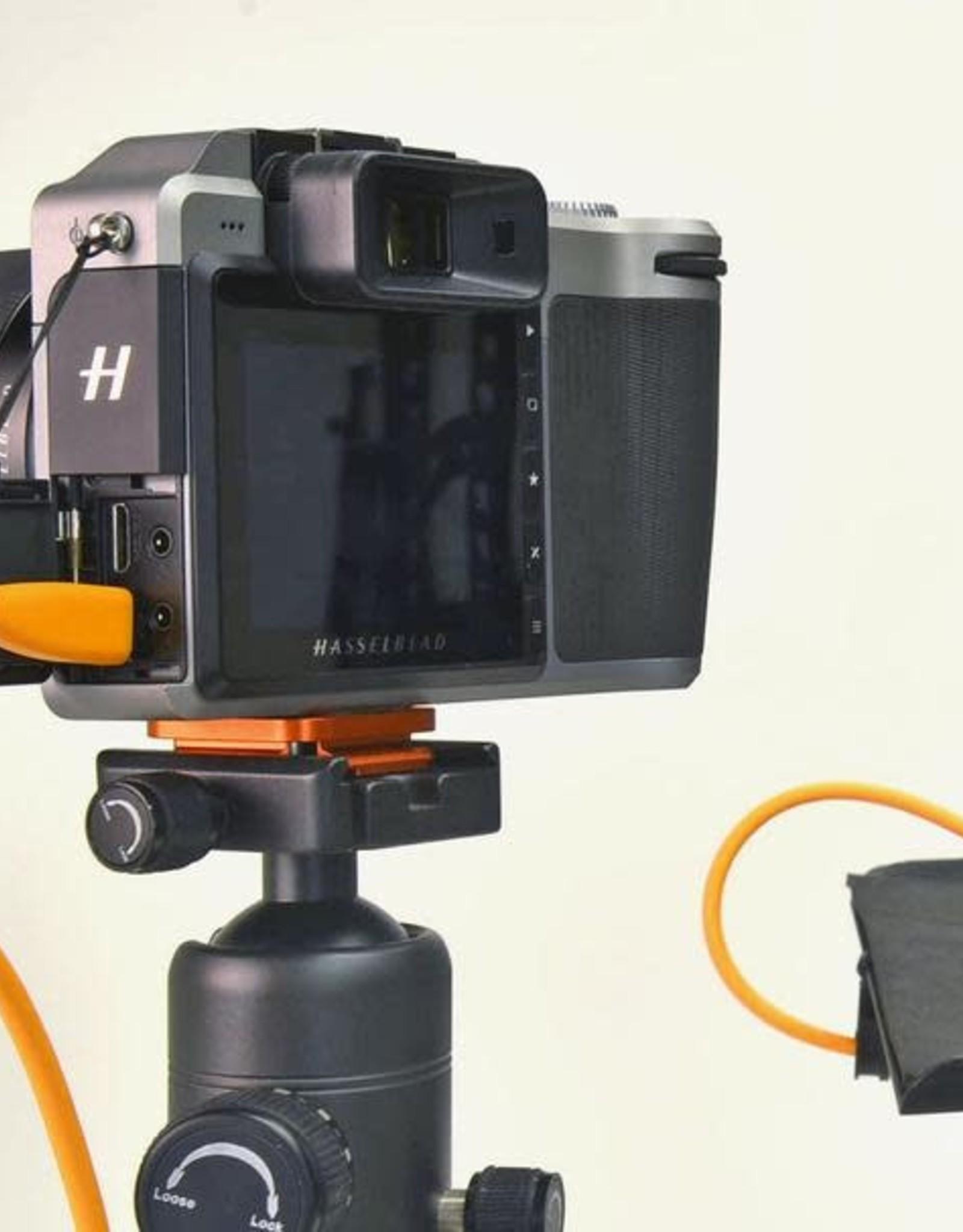 Tether Tools Tether Tools TetherPro USB-C to USB-C, 15' (4.6m), High-Visibility Orange