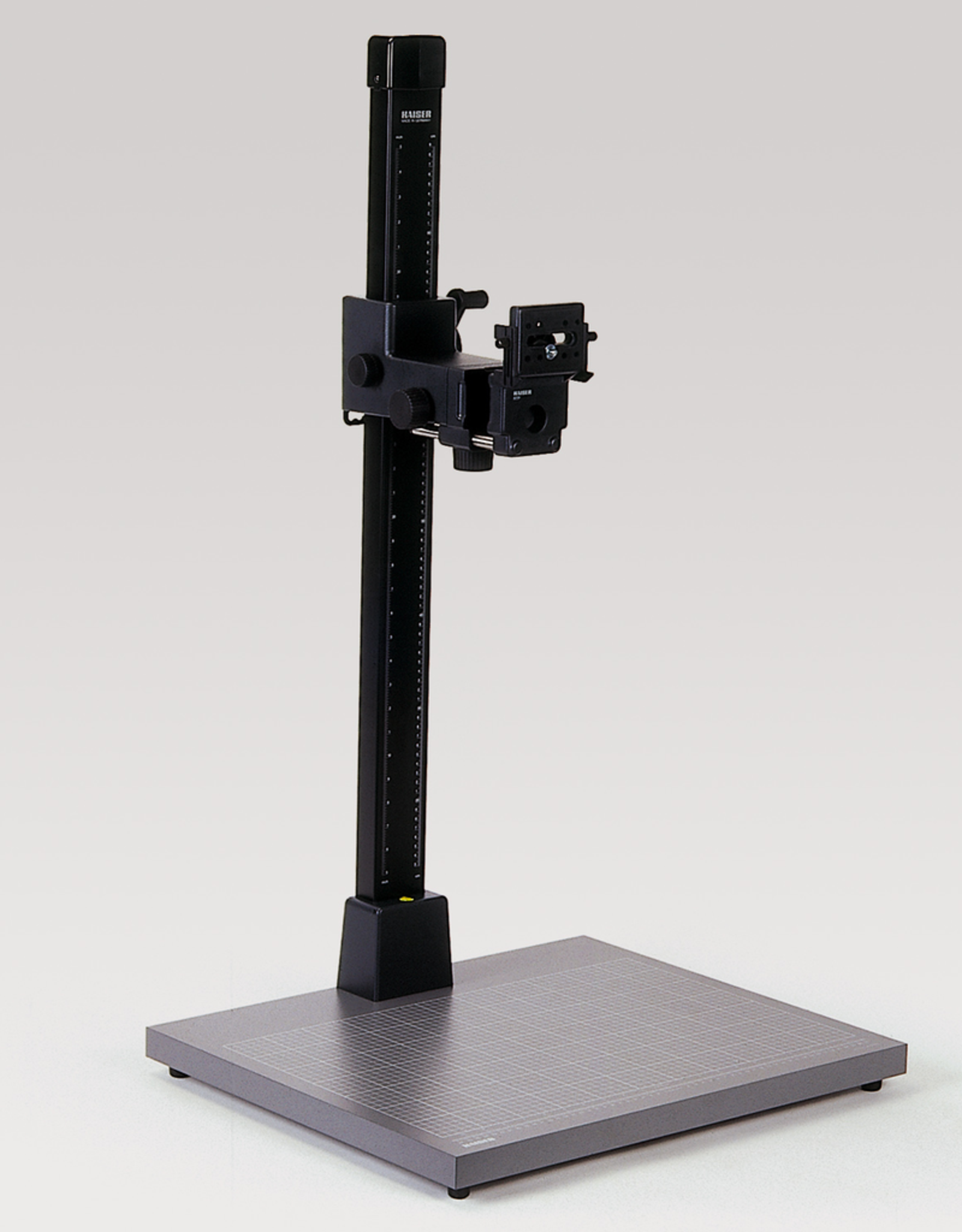 """Kaiser Kaiser Copy Stand RS 10, with camera arm RTP (# 5524), column height 1 m (3 feet 3"""") with gear rack, baseboard 60 x 50 cm (23.6 x 19.7 """")"""
