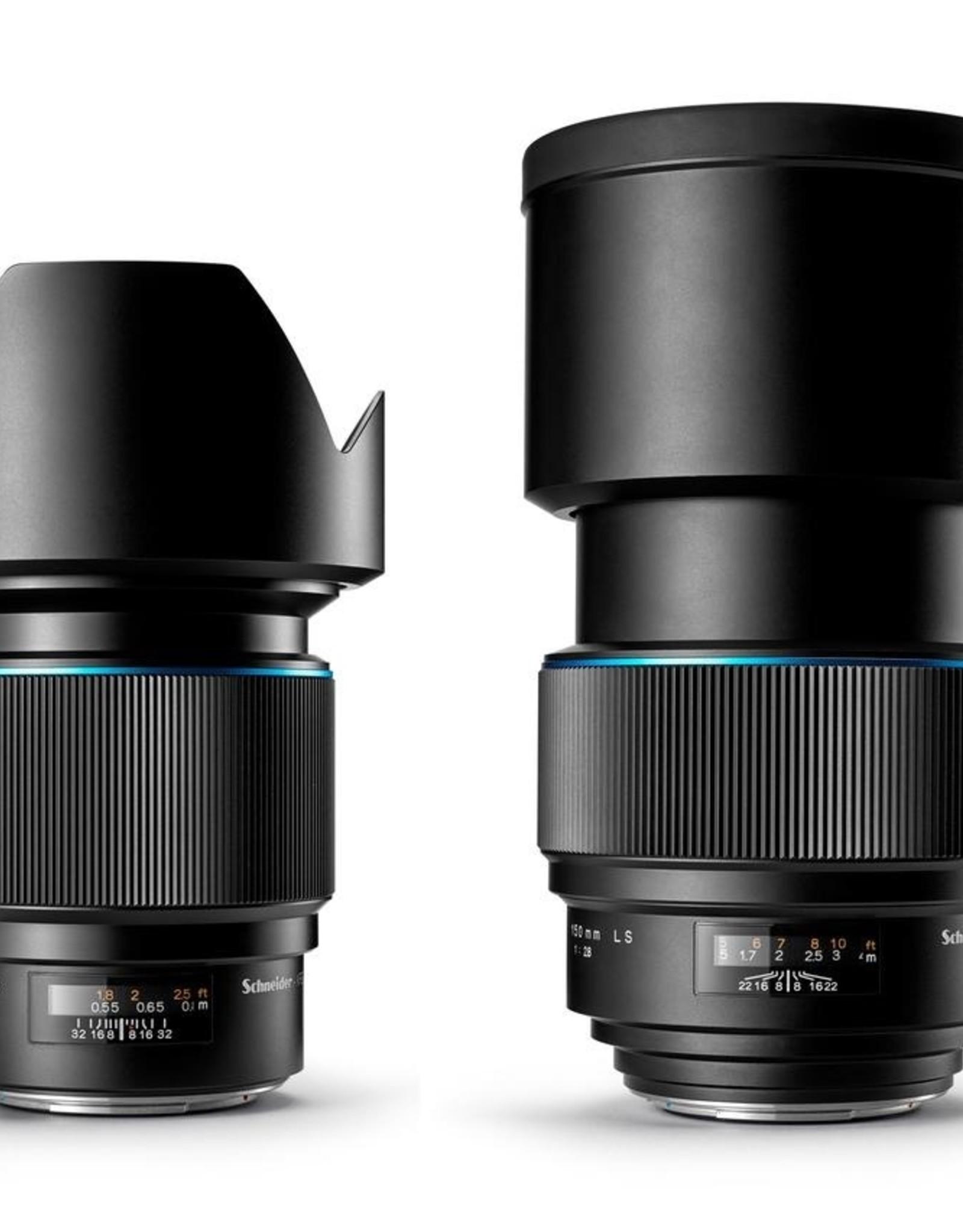 Phase One Phase One Schneider Kreuznach 150mm LS f/2.8 Blue Ring- ø95mm Schneider Kreuznach Lenses come with a 1 Year Warranty