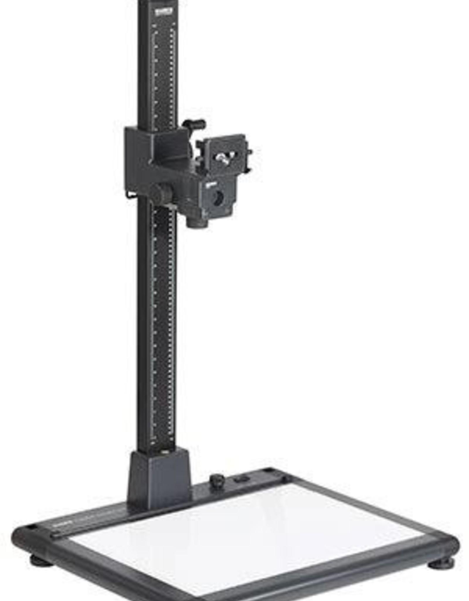 Kaiser Kaiser Copylizer exe.cutive LED, column 100 cm (39.4 in.), camera arm RTP and illumina base plate, area 50.6 x 36 cm (19.9x14.2 in), with 270 SMD LEDs, 5600 K, CRI=95, dimmable 100 - 120 V / 60 Hz, US-Plug