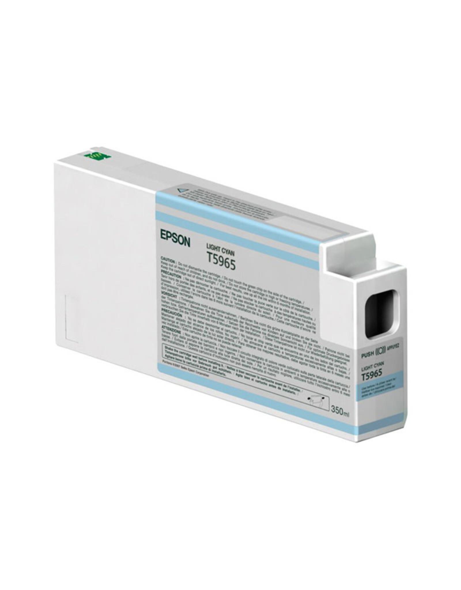 Epson Epson Light Cyan Ultra Chrome HDR Ink 350ml for SP7900, 9900, 7890 & 9890