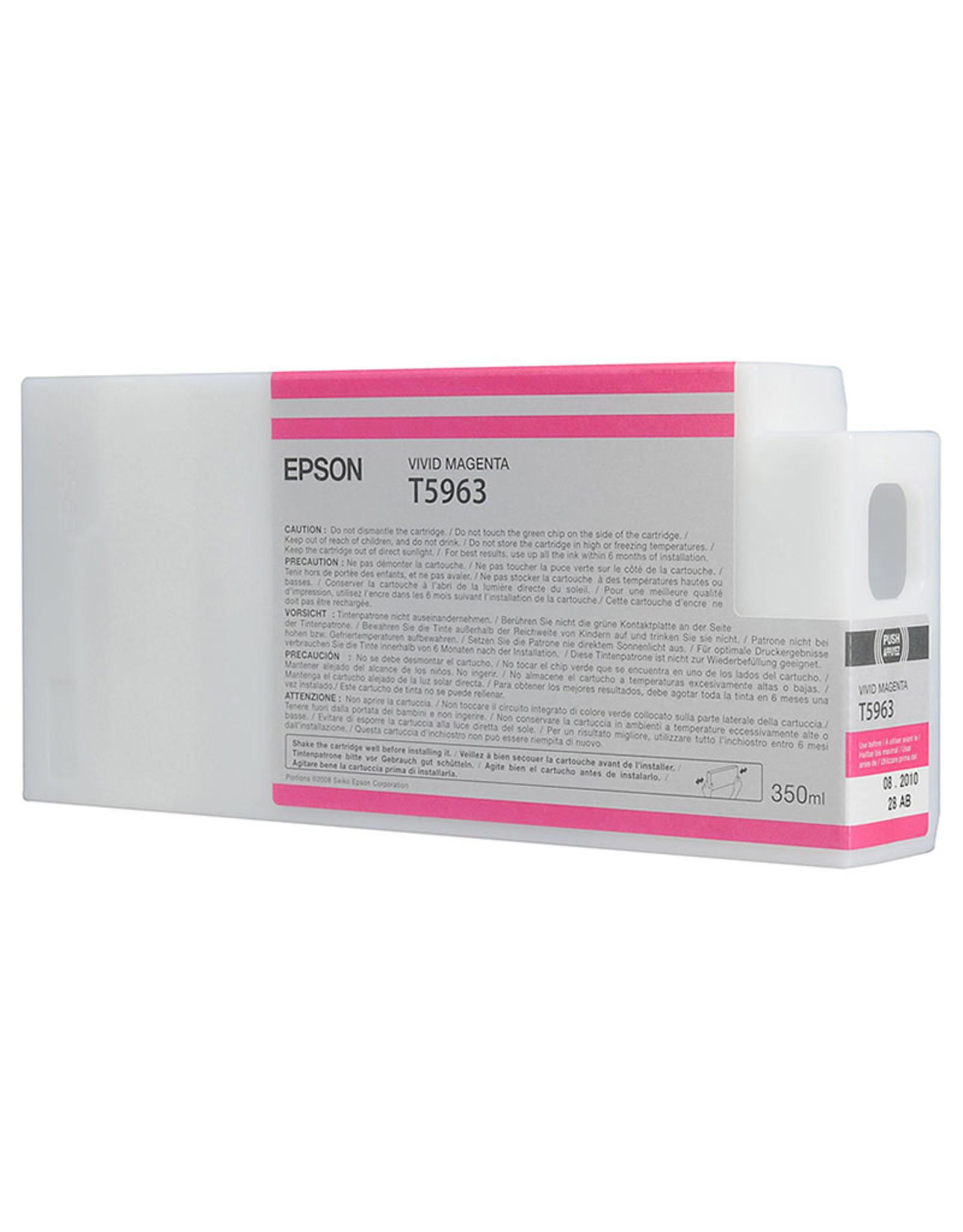 Epson Epson Vivid Magenta Ultrachrome HDR Ink for 9900 - 350ml cartridges