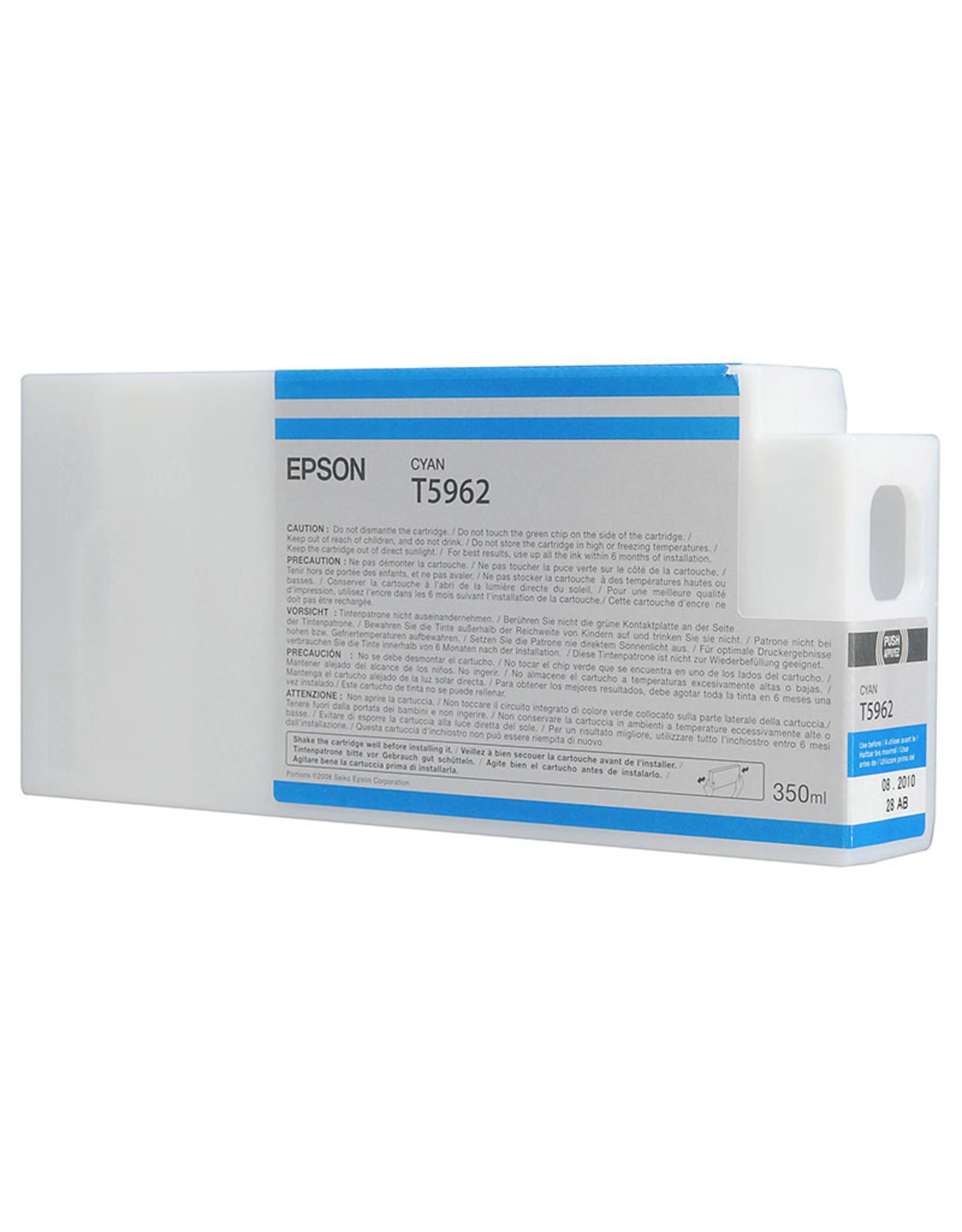 Epson Epson Cyan Ultrachrome HDR Ink for 9900 350ml cartridges