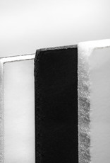 "Foamcore 48x96x3/16"" Black/White"
