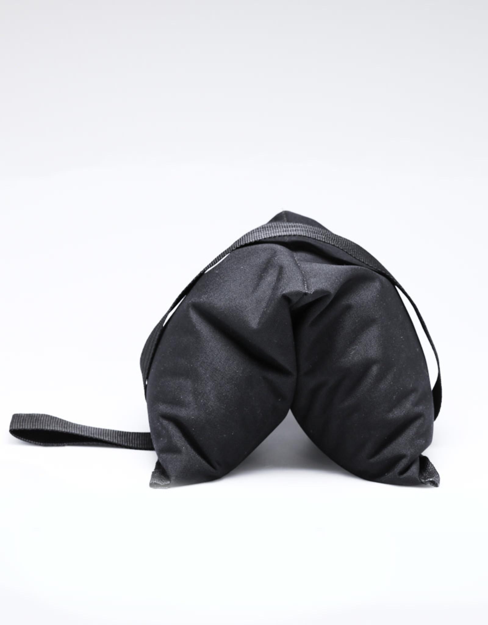 25lb Black Saddlebag Sandbag - Cordura