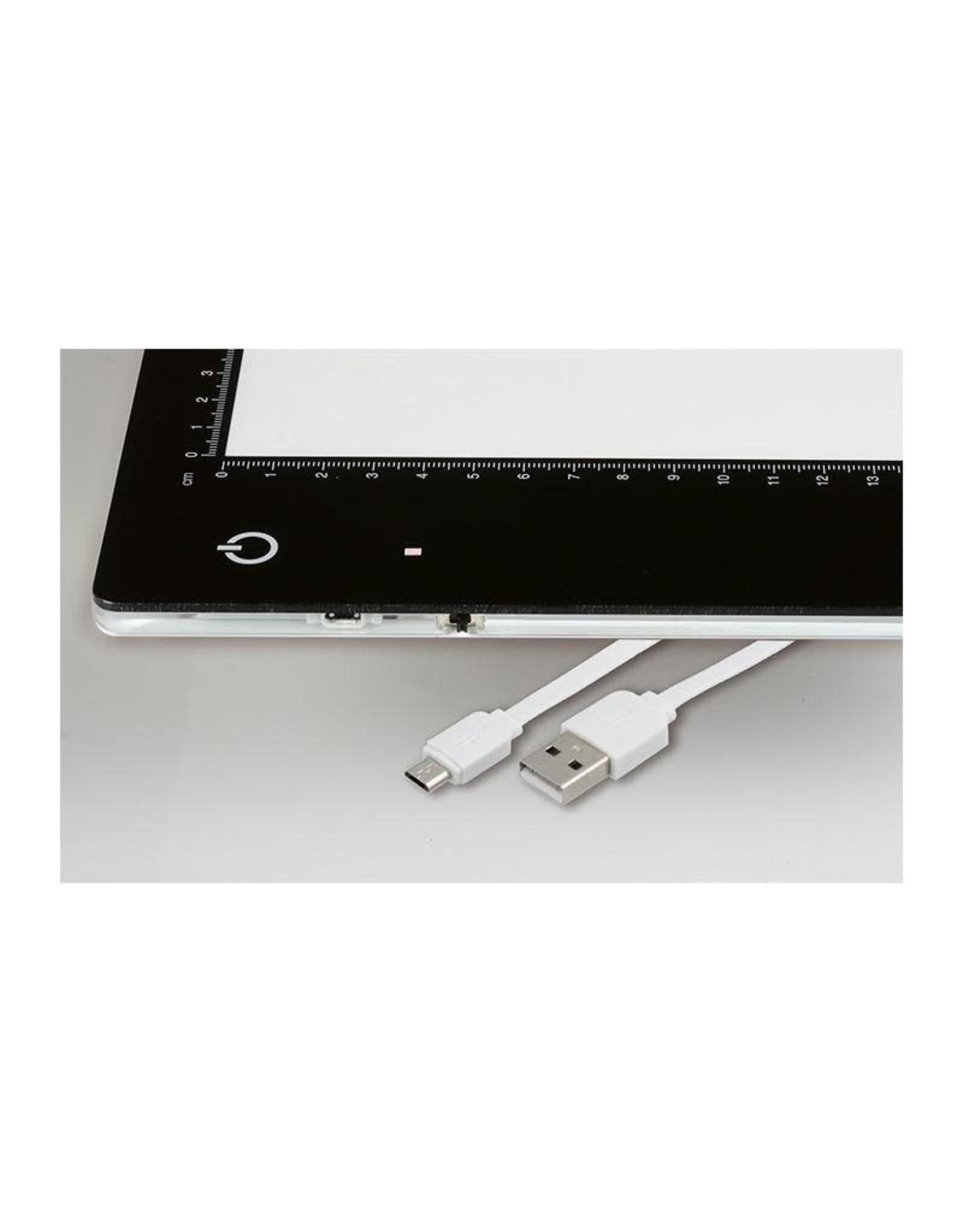 Kaiser Kaiser Slimlite Plano LED Lightbox 5000 K,  dimmable, mains or battery operation, incl. mains adapter / charger
