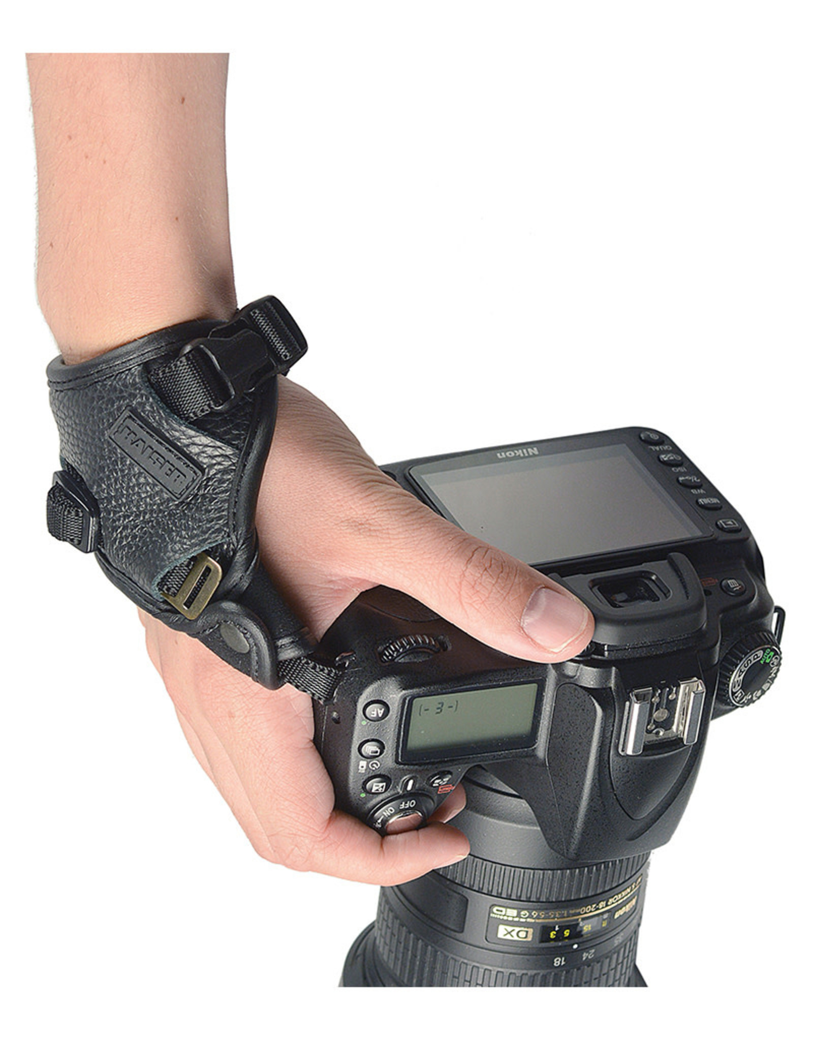 """Kaiser Kaiser """"PRO connexion 2.1"""" Professional Camera Hand Strap, with quick release plate"""
