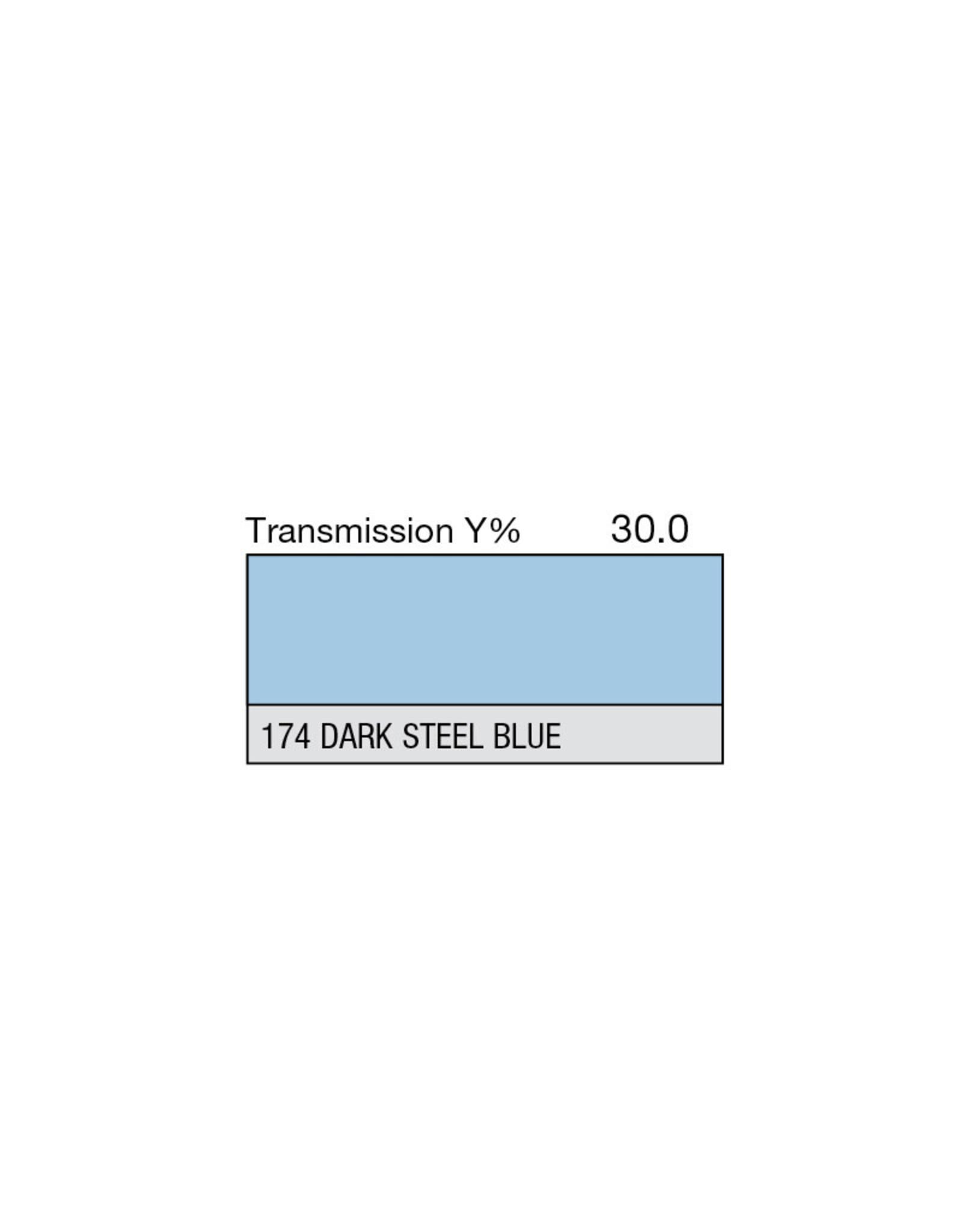 """Lee Filters Lee Filters 174 Dark Steel Blue 20x24"""" sheet"""