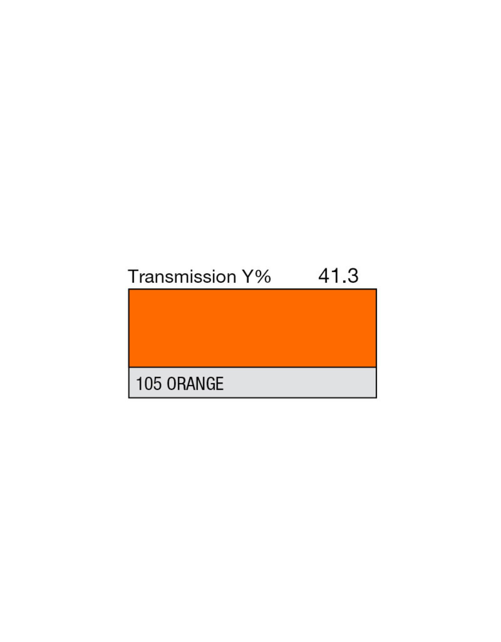 """Lee Filters Lee Filters 105 Orange 20x24"""" sheet"""