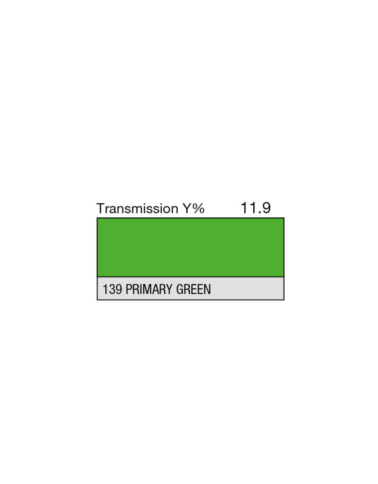 """Lee Filters Lee Filters Primary Green 20""""x24"""" sheet"""